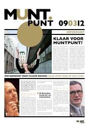 klaar voor muntpunt? - Vlaamse overheid - Coördinatie Brussel