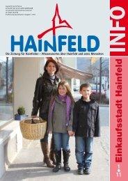 Hainfeld Info 01/2011 - Wir Hainfelder