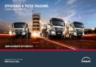 EfficiENzA A TuTTA TrAzioNE. - MAN - MAN Truck & Bus