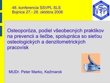 MUDr. Peter Marko - všeobecný praktický lekár