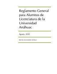 Reglamento General Para Alumnos de Licenciatura - Universidad ...