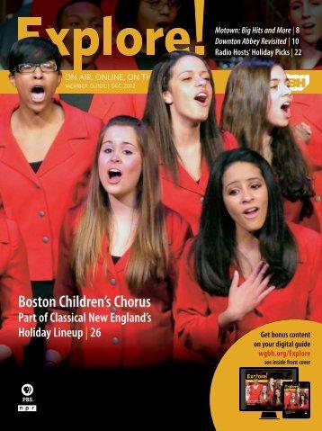 Boston Children's Chorus - WGBH
