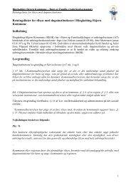 Retningslinier for døgninstitutioner.pdf - Ringkøbing-Skjern Kommune