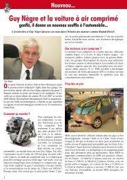 Guy Nègre et la voiture à air comprimé - Le Canard Gascon