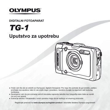 Uputstvo za upotrebu TG-1 - Olympus