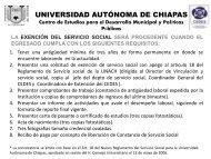 UNIVERSIDAD AUTÓNOMA DE CHIAPAS Centro de Estudios para ...
