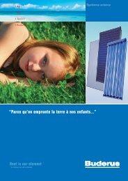 Documentation gamme solaire - Climamaison