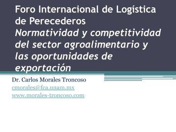Foro Internacional de Logística de Perecederos ... - Expo Carga