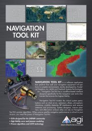 Navigation Tool Kit - AGI