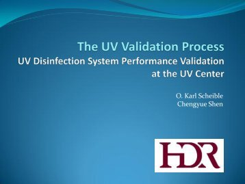 The UV Validation Process - What's New - Ohiowater.org