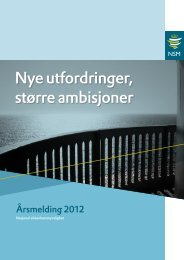 Årsmelding for 2012 - NSM