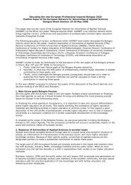 Position paper of the European Network for Universities of Applied ...
