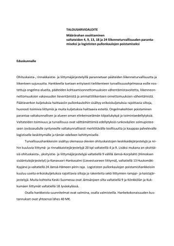 [NÄPÄYTÄ JA KIRJOITA OTSIKKO] - Keski-Suomen liitto