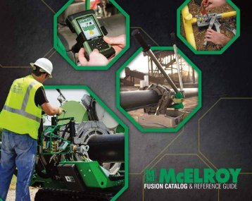 2013 McElroy Fusion Catalog and Reference Guide