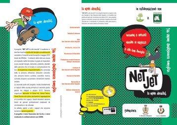 brochure netjet.pdf - CSVM Centro Servizi Volontariato Mantovano