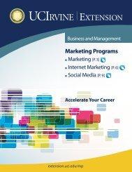 Marketing Programs - UC Irvine Extension - University of California ...