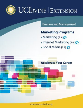 Marketing Programs - UC Irvine Extension - University of California ...