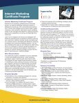 Marketing Programs - UC Irvine Extension - University of California ... - Page 6