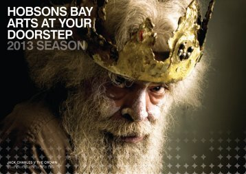 HOBSONS BAY ARTS AT YOUR DOORSTEP 2013 SEASON