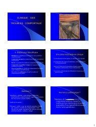 TROUBLES DU COMPORTEMENT - longue vie et autonomie (HEGP)