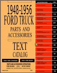 DEMO - 1948-56 Ford Truck Parts and Accessories Catalog