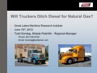 Will Truckers Ditch Diesel for Natural Gas? - Great Lakes Maritime ...