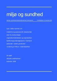 Miljø og sundhed nr. 29, december 2005 (PDF 1,05MB)