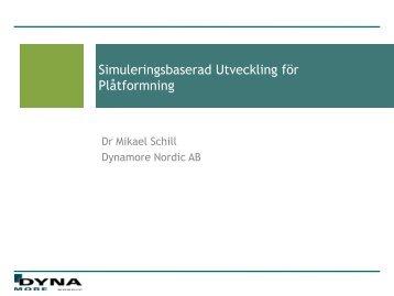 Mikael Schill, DYNAmore Nordic (PDF-dokument, 2,5 MB)