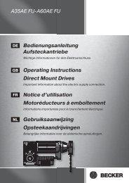 A35AE FU-A60AE FU Bedienungsanleitung Aufsteckantriebe ...