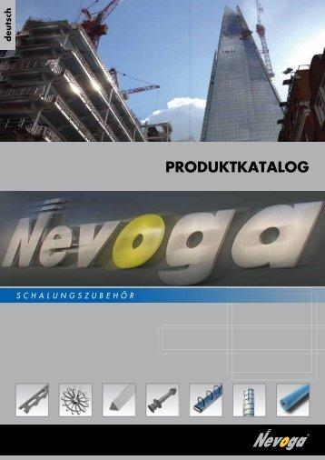 PRODUKTKATALOG - Nevoga