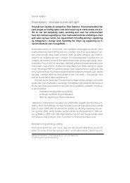 Finanskrisen – hvordan kunne det skje.pdf - Institutt for ...