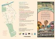 Téléchargez la plaquette des Journées du patrimoine à Noisiel