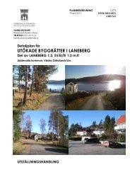 Planbeskrivning Utställning Detaljplan - Uddevalla kommun