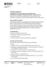 Samrådsredogörelse - Skellefteå kommun