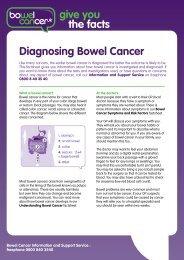 Diagnosing Bowel Cancer - Bowel Cancer UK