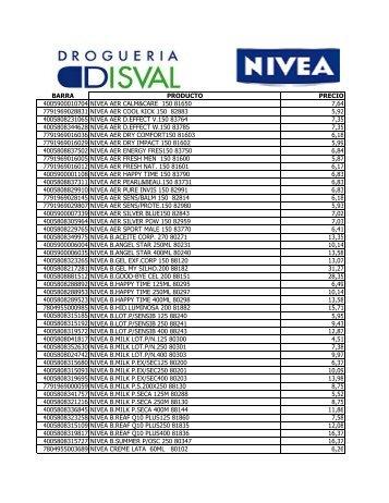 barra producto precio 4005900010704 nivea aer calm&care 150 ...