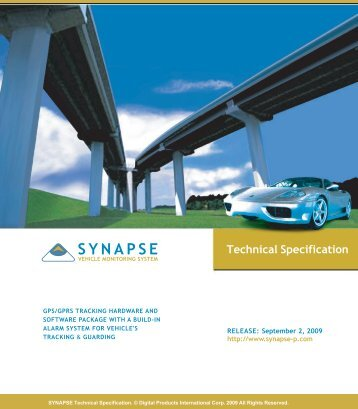 Global Vehicle Tracking System - Synapse