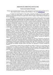 SEQÜESTRO DE CARBONO PELA HEVEICULTURA Tarcísio José ...