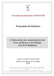 Programme (PDF - 120 KB) - COOPAMI
