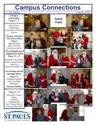January 2010 - St. Paul's