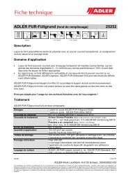 ADLER PUR-Füllgrund (fond de remplissage) 25252