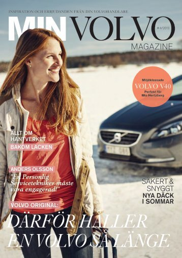 därför hållEr En vOlvO så längE - Volvo Personbilar Sverige AB