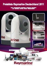 Preisliste Raymarine Deutschland 2011 - YEH Engels & Kieth GmbH