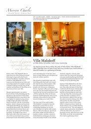 Villa Malakoff - Merrioncharles.com
