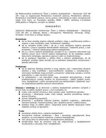 Podgorica, 6 - Vlada Crne Gore