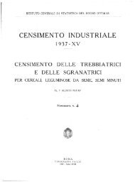 CENSIMENTO INDUSTRIALE - Istat