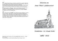Historien om Inner Wheels Julekoncerter - Odense Vestre Inner ...