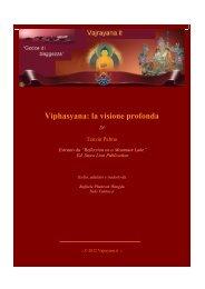 Viphasyana: la visione profonda