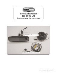 rostra rearsight 250-8081-lpb installation instructions