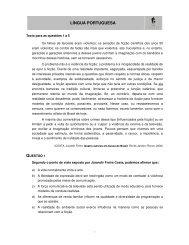 Português/Inglês, Geografia e História